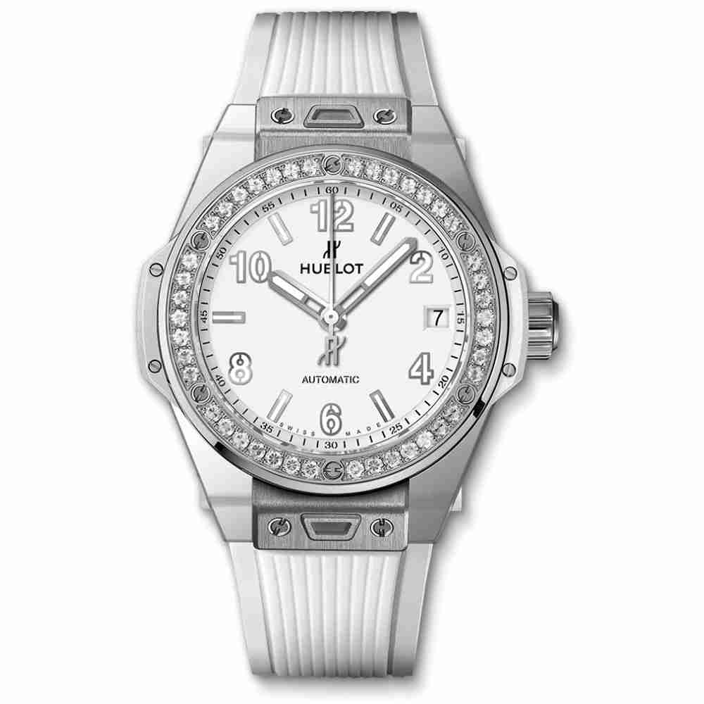Hublot Big Bang Steel White Diamonds 39mm Replica