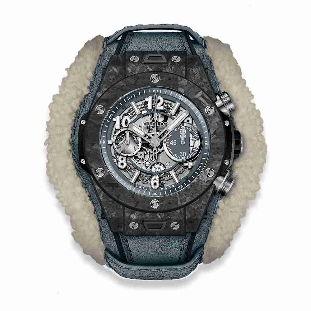 Hublot Big Bang Unico Frosted Carbon 45mm Replica