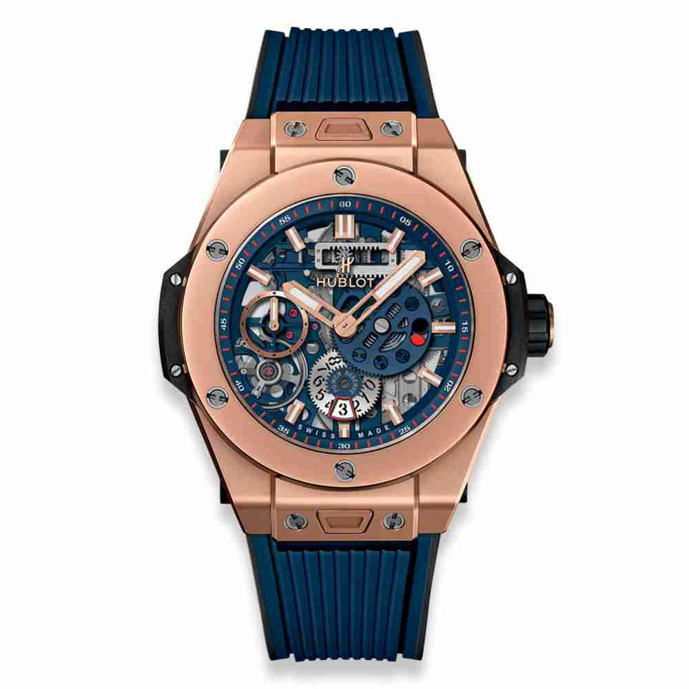 Hublot Big Bang MECA-10 King Gold Blue 45mm Replica