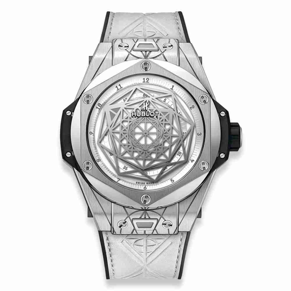 Hublot Big Bang Sang Bleu Titanium White 45mm Replica