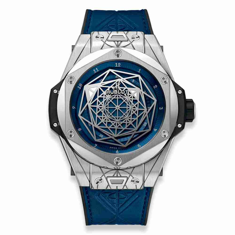 Hublot Big Bang Sang Bleu Titanium Blue 45mm Replica