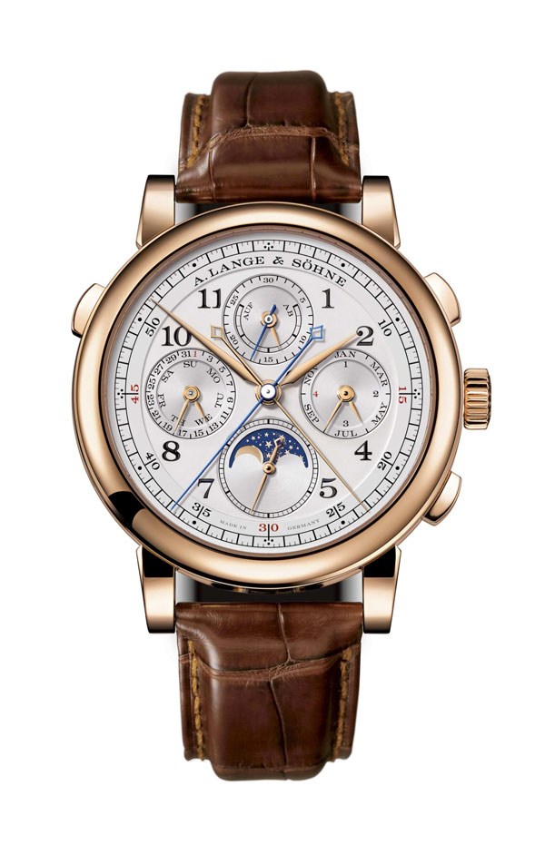 A. Lange & Sohne 1815 Rattrapante Perpetual Calendar 41.9mm Mens Watch 421.032 Replica