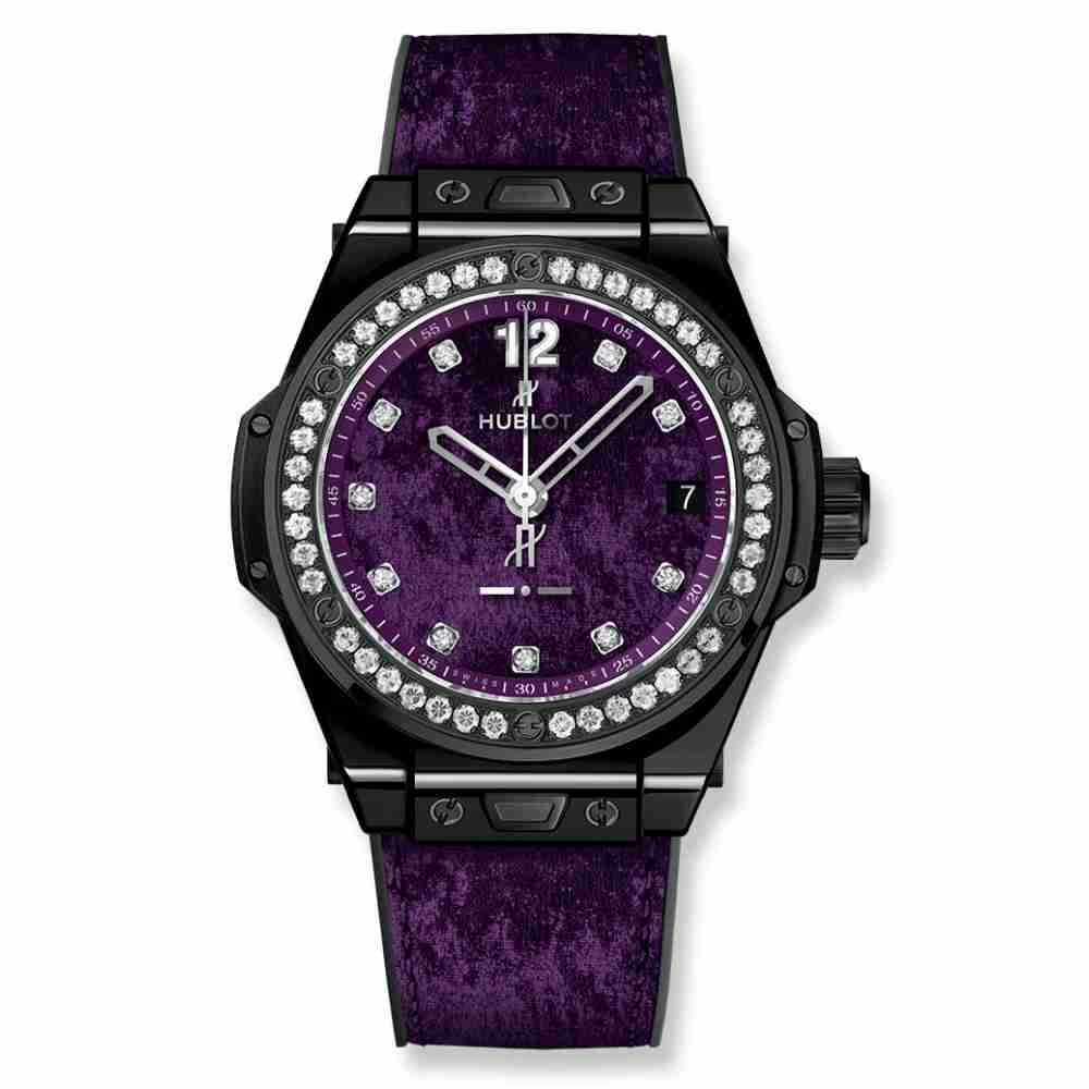 Hublot Big Bang One Click Italia Independent Purple Velvet 39mm Replica