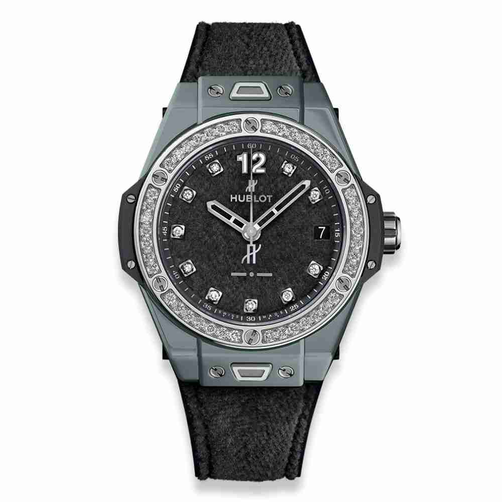 Hublot Big Bang One Click Italia Independent Dark Grey Velvet 39mm Replica