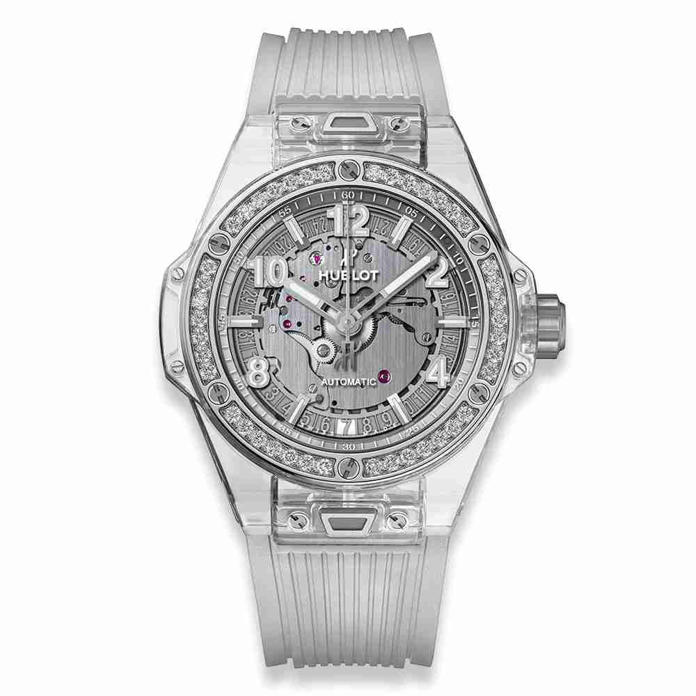Hublot Big Bang One Click Sapphire Diamonds 39mm Replica