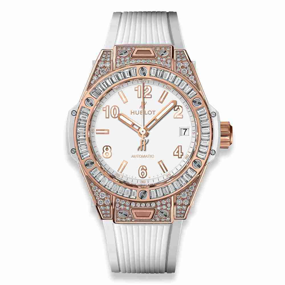 Hublot Big Bang One Click King Gold White Jewellery 39mm Replica