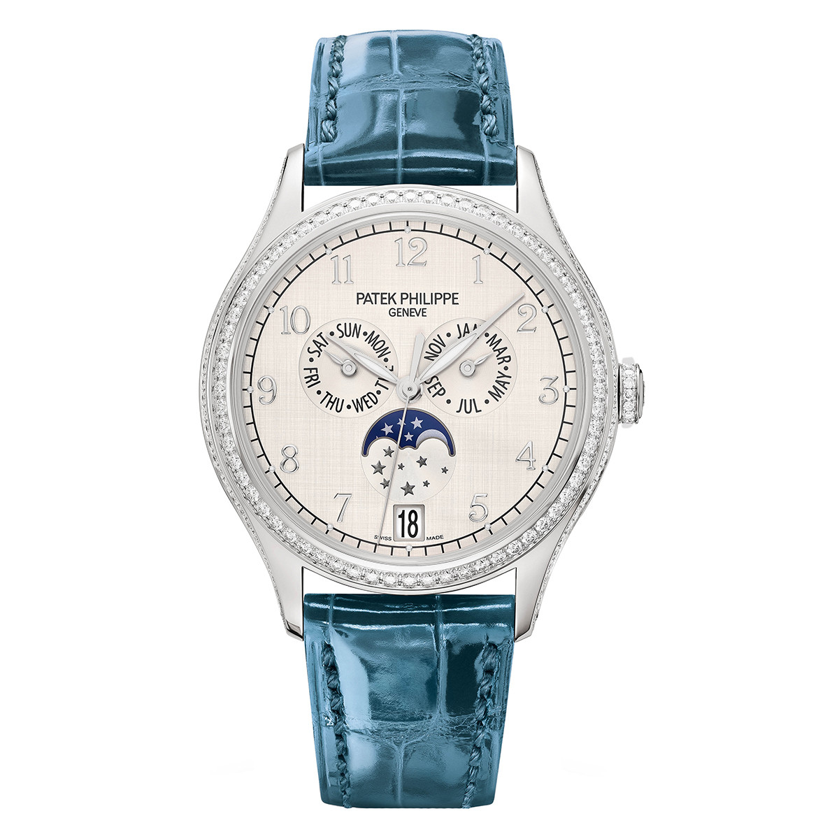 Patek Philippe Ladies Complications White Gold 4947G-010