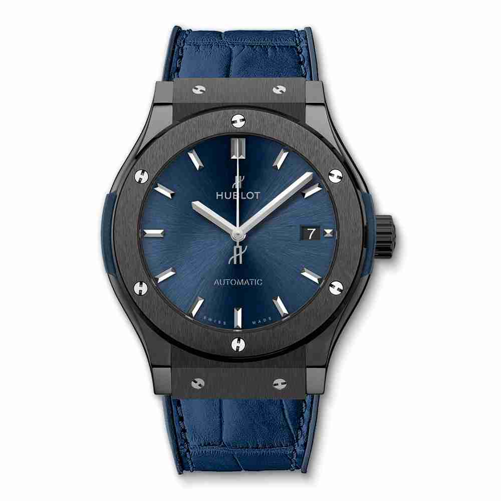 Hublot Classic Fusion Ceramic Blue 45mm Replica