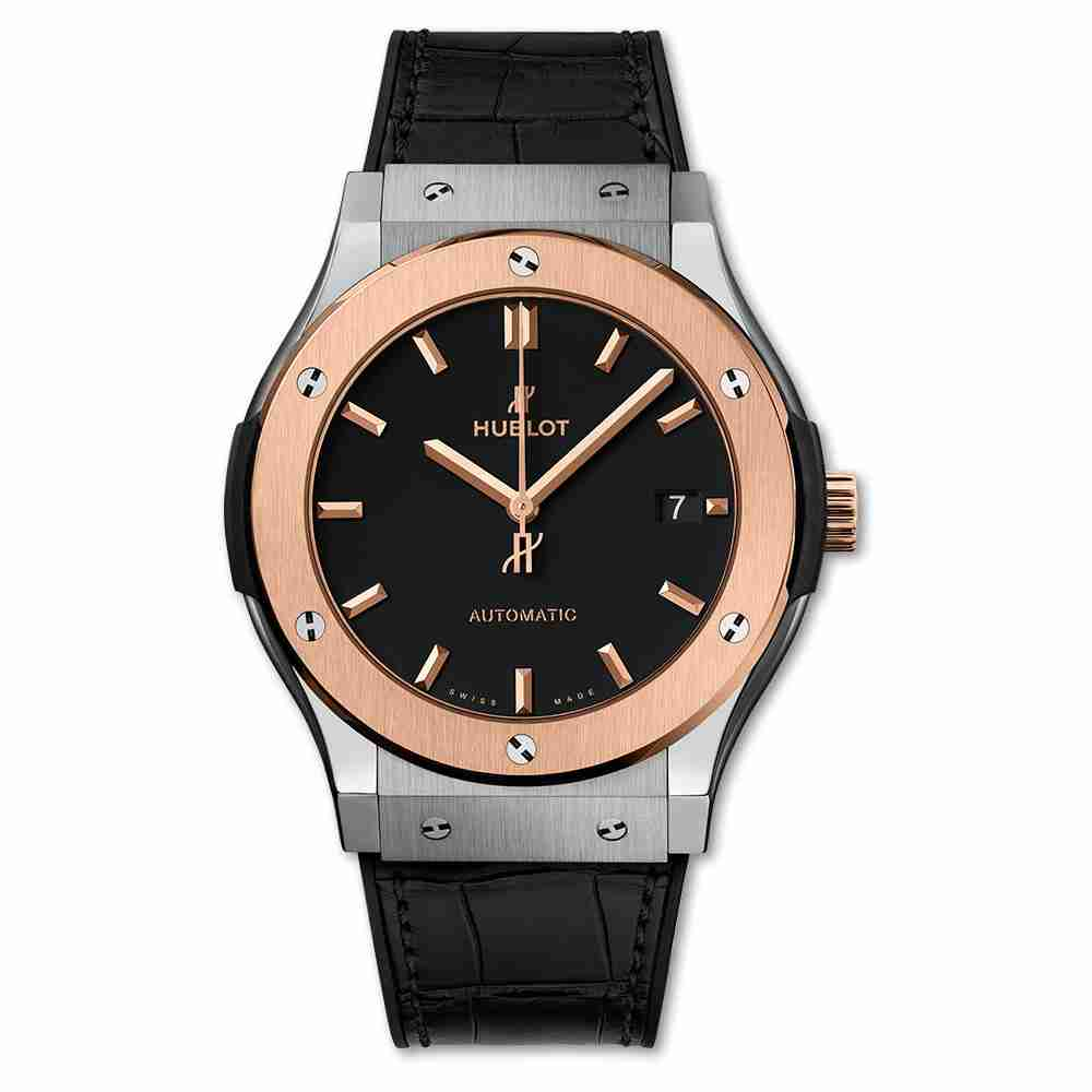 Hublot Titanium King Gold Classic Fusion Rose Gold watches Replica