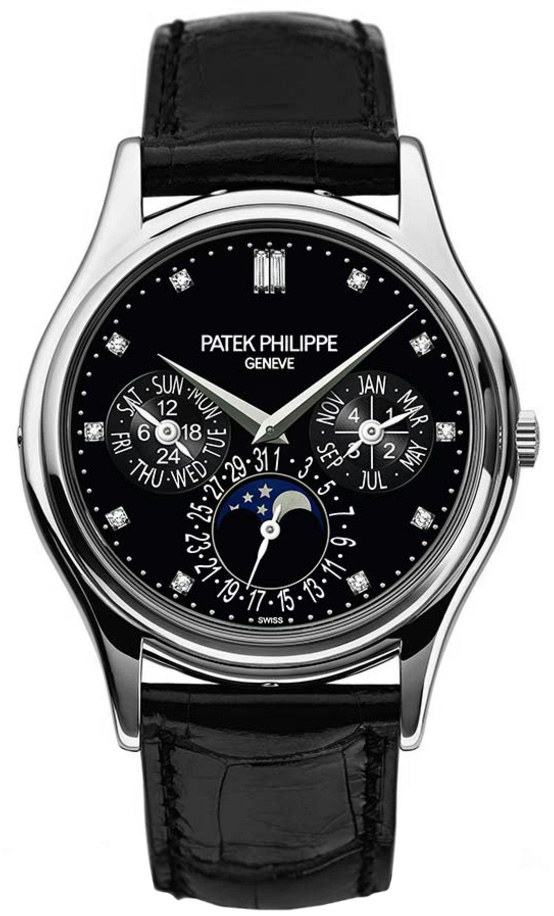 Patek Philippe Grand Complications Black Diamond Dial Automatic 5140P-013