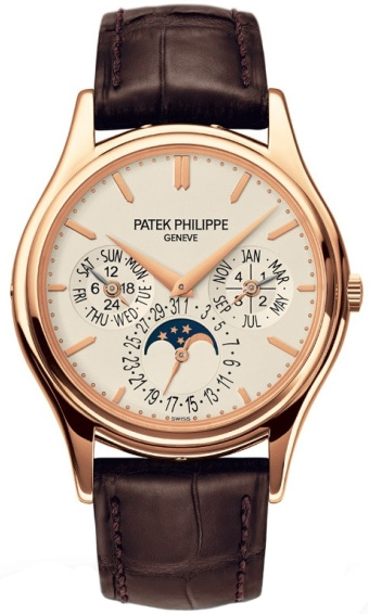 Patek Philippe Grand Complications Silver Dial 18kt Rose Gold 5140R-011