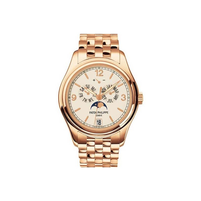 Patek Philippe Complications Cream Dial 18K Rose Gold 5146/1R-001