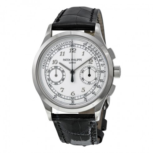 Patek Philippe Complications Chronograph Silvery White Dial 5170G-001