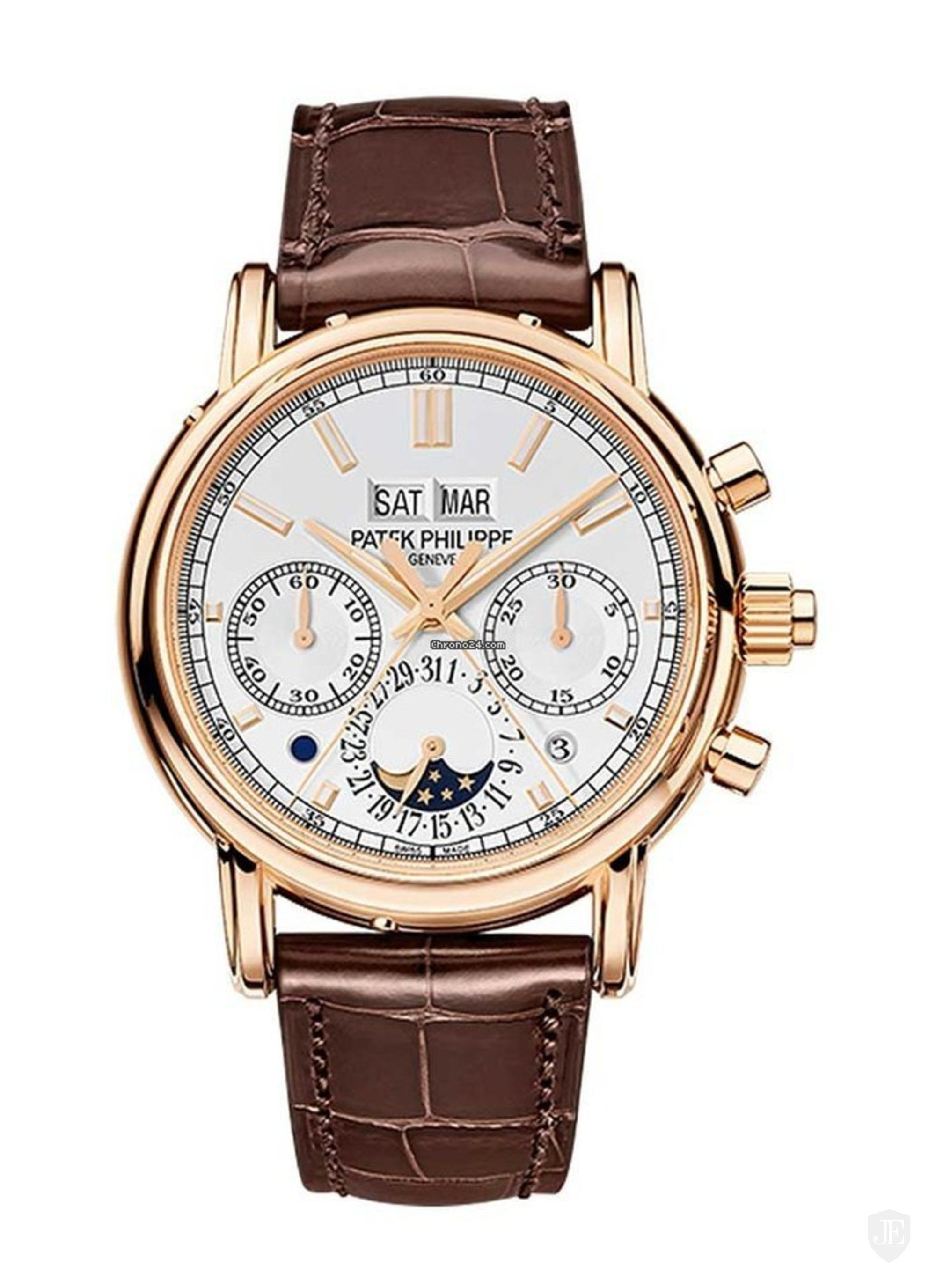Patek Philippe Grand Complication Perpetual Calendar Split Second Chronograph 5204R-001