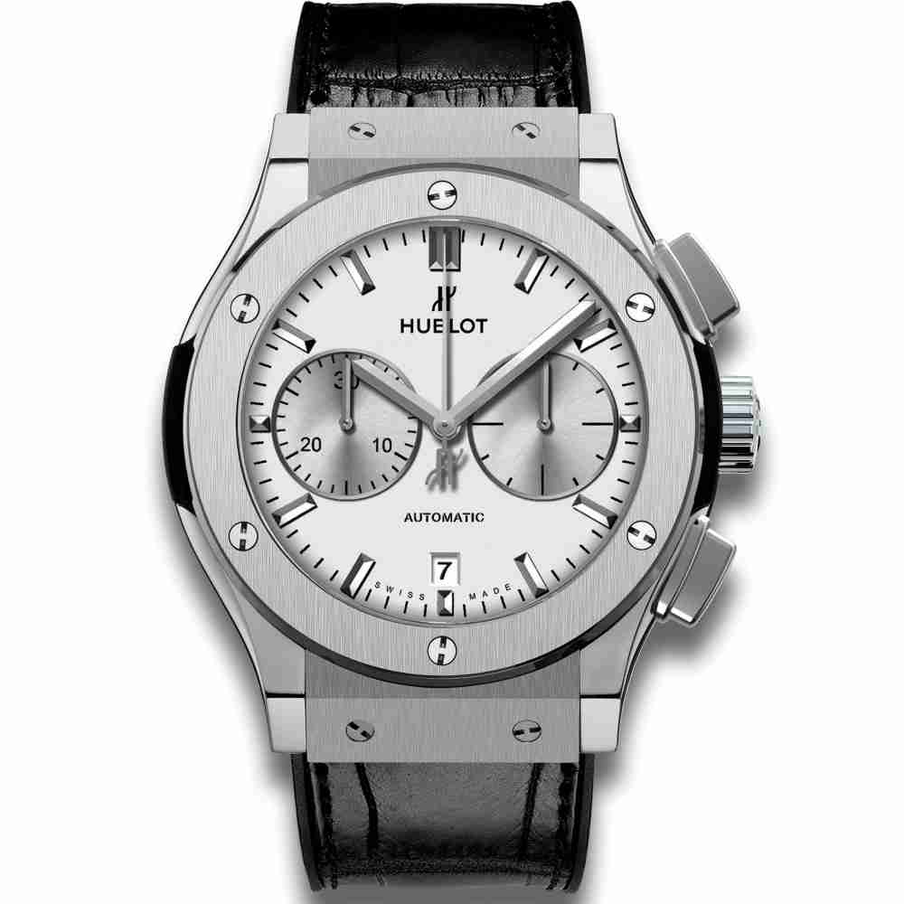 Hublot Chronograph Titanium Opalin 45mm Classic Fusion watches Replica
