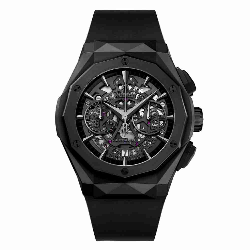 Hublot Classic Fusion Aerofusion Chronograph Orlinski All Black 45mm Replica