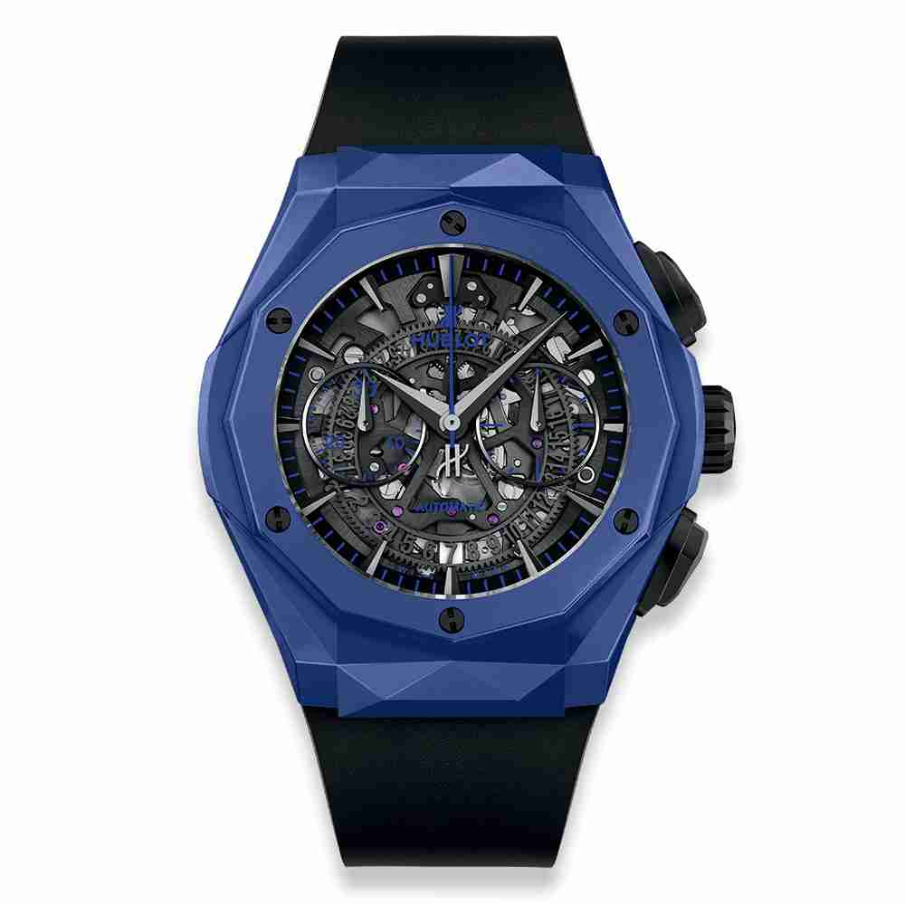 Hublot Classic Fusion Aerofusion Chronograph Orlinski Blue Ceramic 45mm Replica