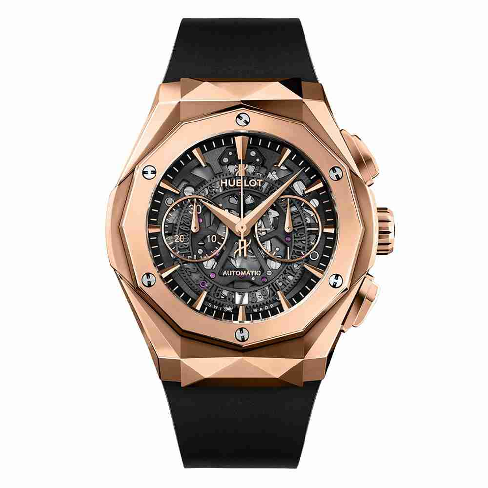 Hublot Classic Fusion Aerofusion Chronograph Orlinski King Gold 45mm Replica