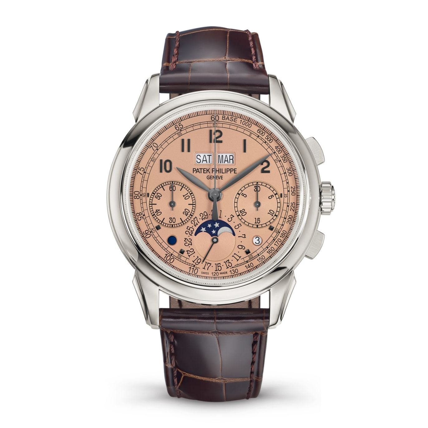 Patek Philippe Perpetual Calendar Chronograph With Salmon Dial 5270P-001