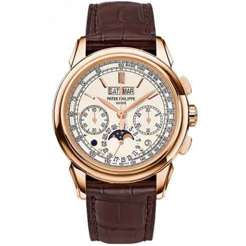 Patek Philippe Grand Complications Silver Dial 18K Rose Gold 5270R-001