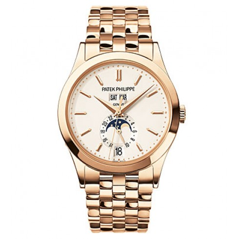 Patek Philippe Annual Calendar Silver Dial 18kt Rose Gold 5396/1R-010 - Click Image to Close