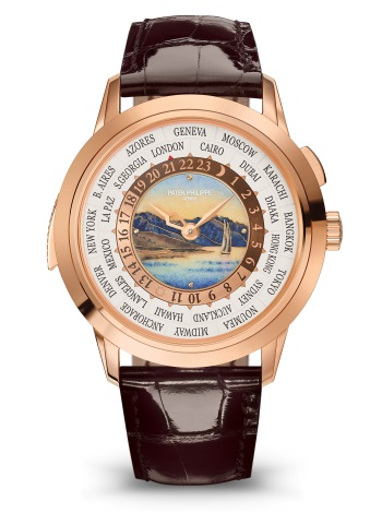 Patek Philippe World Time Minute Repeater Lavaux 5531R-001