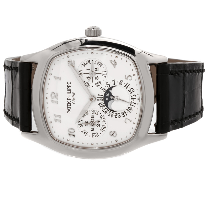 Patek Philippe Grand Complications Silver Dial Automatic 5940G-001