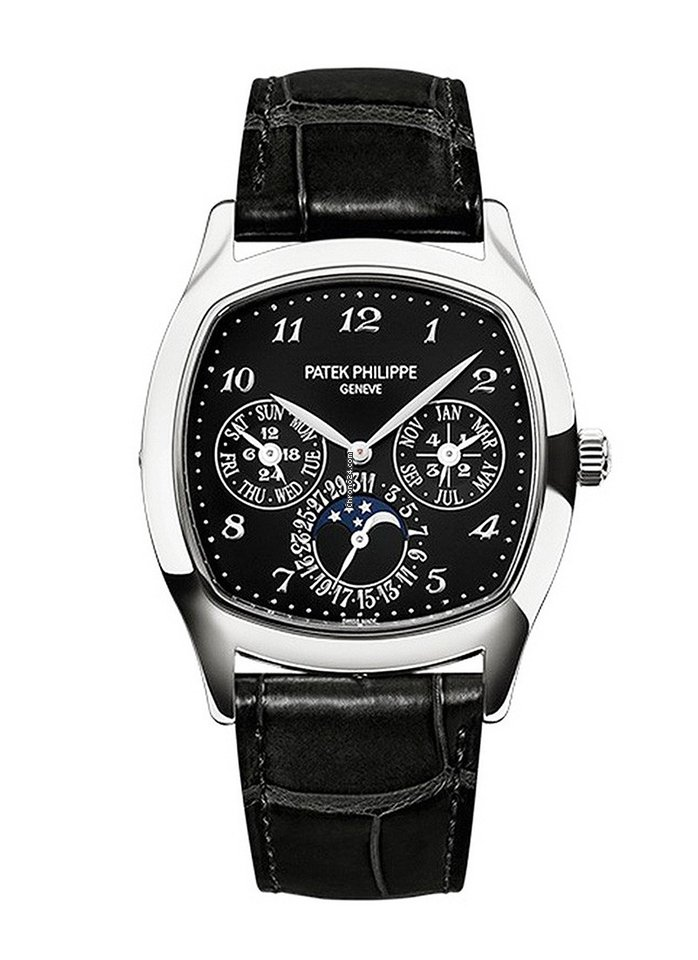 Patek Philippe Grand Complications Perpetual Calendar Day-Date Moon Phase 5940G-010