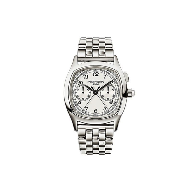 Patek Philippe Split-Seconds Chronograph 5950 Stainless Steel / Silver / Bracelet 5950/1A-001