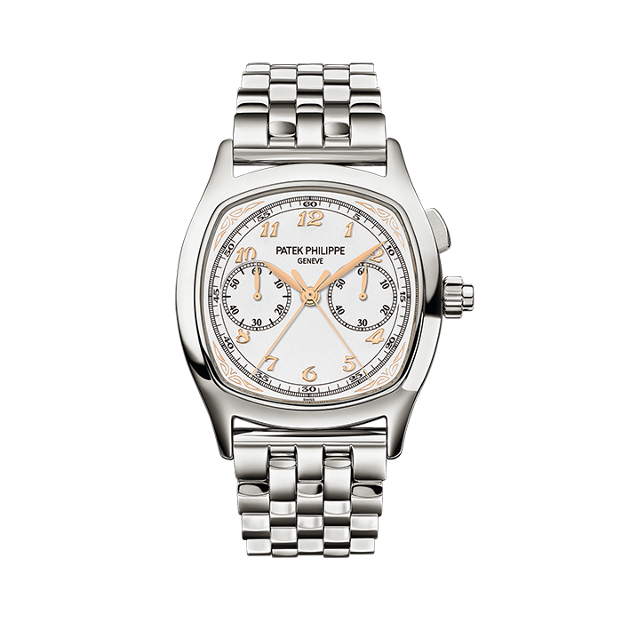 Patek Philippe Split-Seconds Chronograph 5950 Stainless Steel / Silver / Bracelet 5950/1A-013
