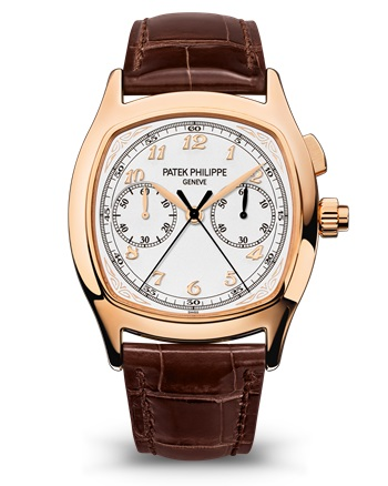 Patek Philippe 5950R-001 Split-Seconds Chronograph 5950 Rose Gold / Silver 5950R-001