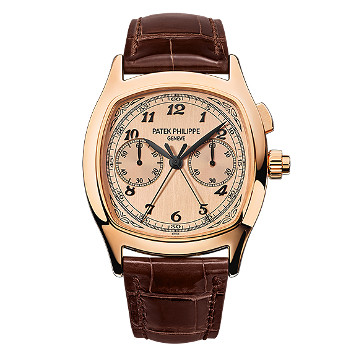 Patek Philippe Split-Seconds Chronograph 5950 Rose Gold / Rose 5950R-010