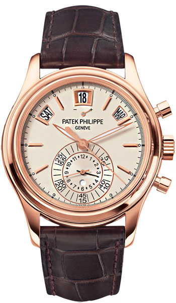 Patek Philippe Complications Chronograph White Opaline Dial 5960R-011