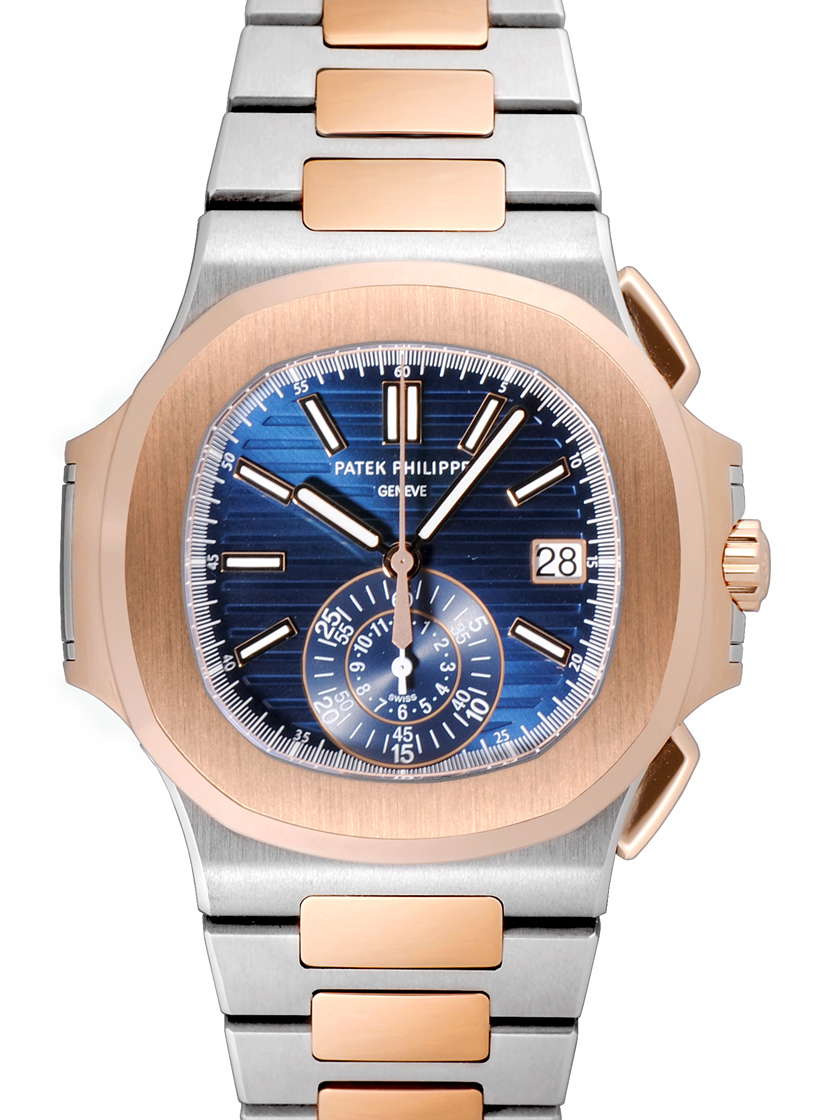 Patek Philippe Nautilus Mechanical Blue Dial 5980/1AR-001