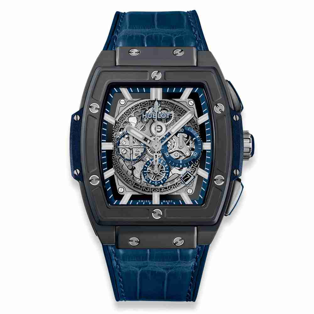 Hublot Spirit of Big Bang Ceramic Blue 45mm Replica