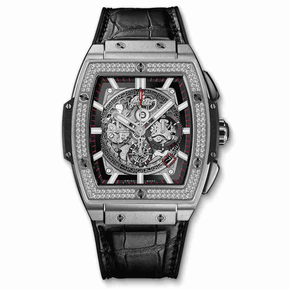 Hublot Spirit Of Big Bang Titanium Diamonds Replica