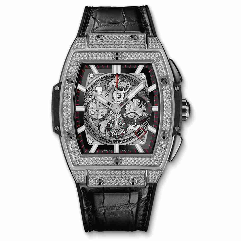 Hublot Spirit Of Big Bang Titanium Pave Replica