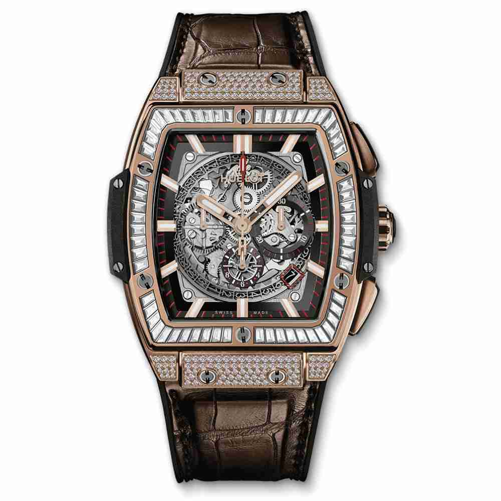 Hublot Spirit Of Big Bang King Gold Jewellery Replica