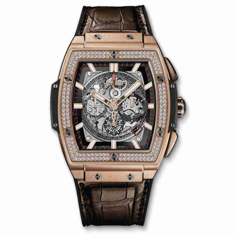 Hublot Spirit Of Big Bang King Gold Diamonds Replica