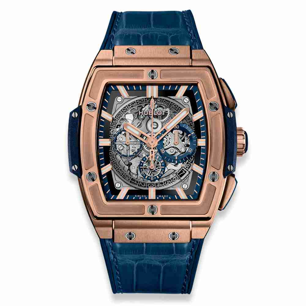 Hublot Spirit of Big Bang King Gold Blue 45mm Replica