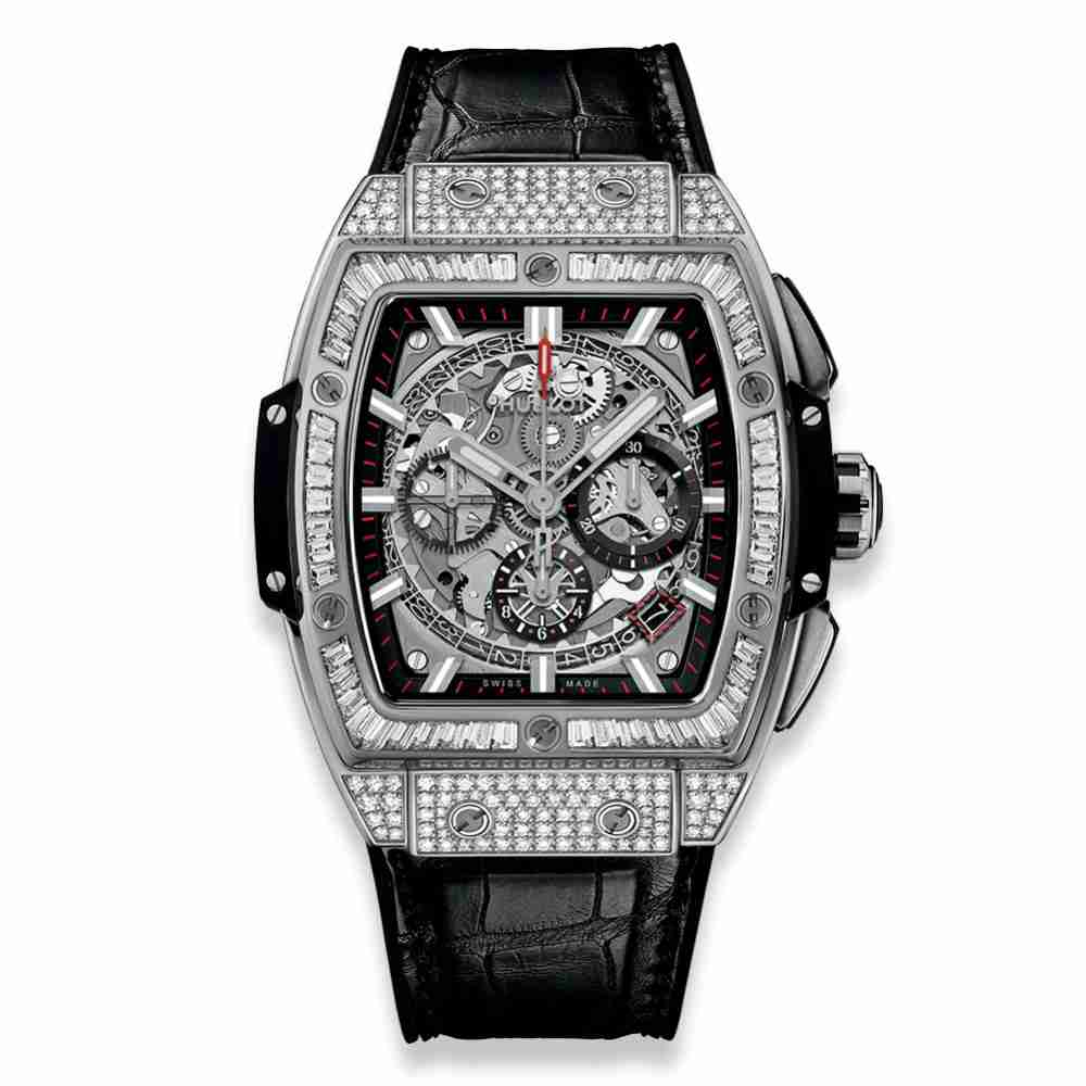 Hublot Spirit Of Big Bang Titanium Jewellery 42mm Replica