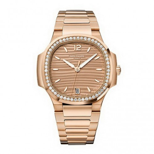 Patek Philippe Nautilus Rose Gold Ladies Ladies 7118/1200R-010