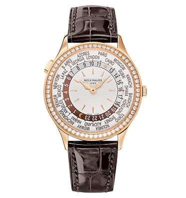 Patek Philippe World Time 7130 Rose Gold / Ivory 7130R-011