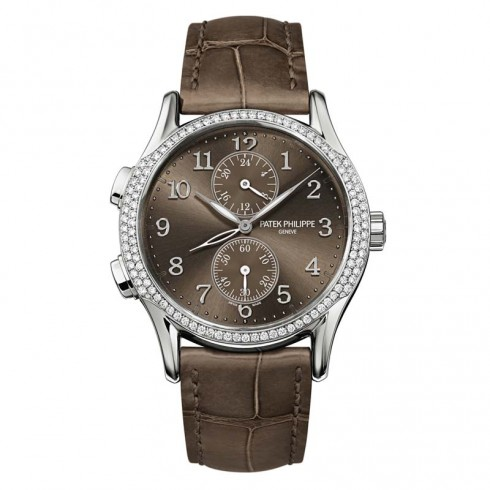 Patek Philippe Complications Brown Dial Ladies 7134G-001
