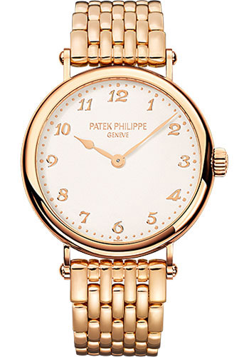 Patek Philippe Calatrava Ladies 18K Rose Gold 7200/1R-001