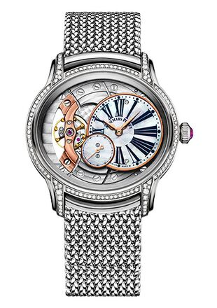 Audemars Piguet Millenary Hand-Wound White Gold Watch Replica