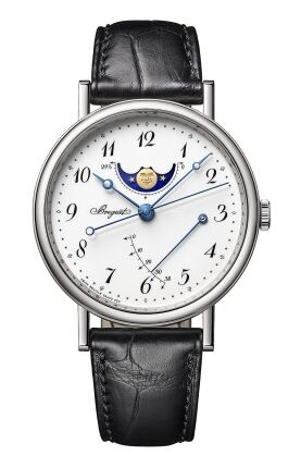 Breguet Classique Moonphase Power Reserve 39mm Mens Watch Replica