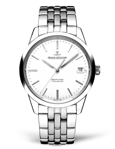 Jaeger LeCoultre Geophysic True Second Automatic Silver Dial Mens Watch Replica