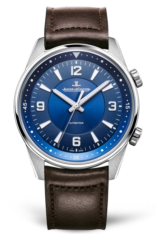 Jaeger-LeCoultre 9008480 Polaris Automatic Stainless Steel/Blue/Calf Replica