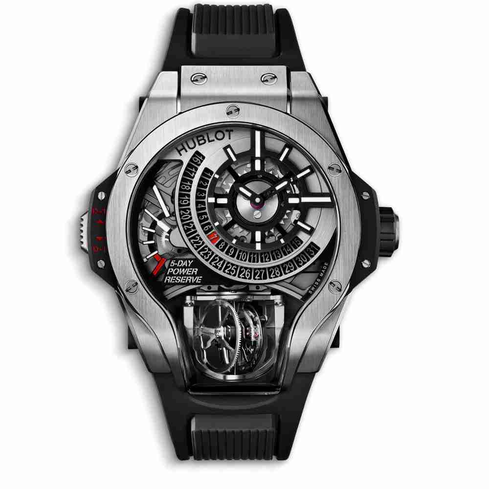 Hublot MP-09 Tourbillon Bi-Axis Titanium Replica